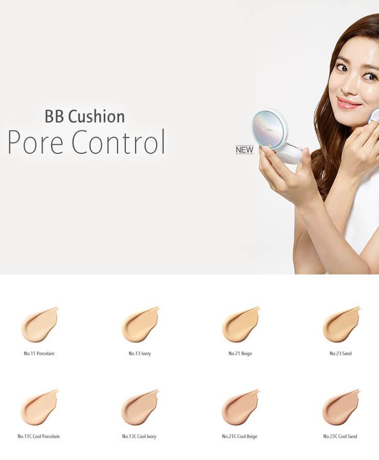 Laneige Bb Cushion Pore Control 1pack Spf50 Pa